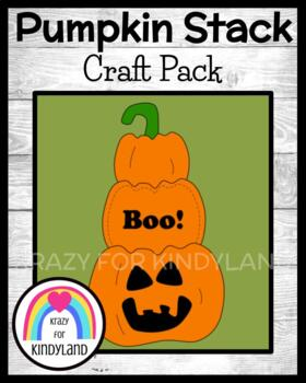 Autumn / Halloween Craft: Pumpkin Stack