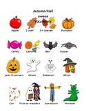 Autumn Halloween Pictionary