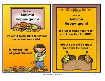 Autumn Happy-grams!