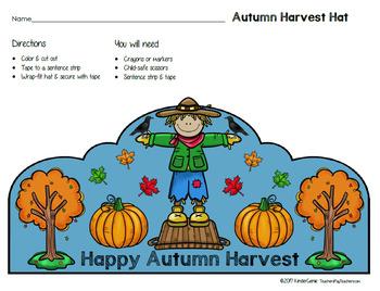 Autumn Harvest Hat - Halloween Alternative