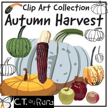 Autumn Harvest Original Clip Art