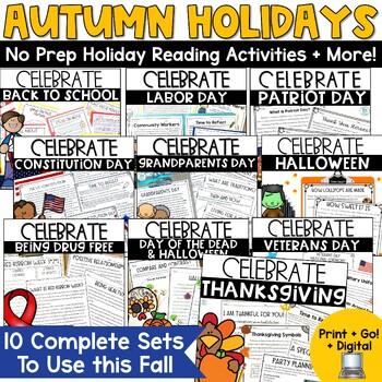 Autumn Holidays Non Fiction Bundle