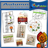 Autumn Interactive Foldable Booklets