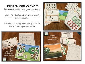 Autumn-  Interactive Problem Solving Math Mats