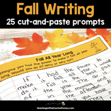 Fall Writing Prompts | Fun Fall Writing Activities | Journal Prompts