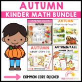 Autumn Kinder Math Bundle
