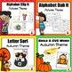 Autumn Kindergarten Literacy Centers