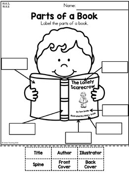 Collections of Language Arts Worksheets For Kindergarten, - Easy ...
