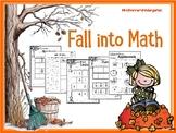 Autumn Kindergarten Math