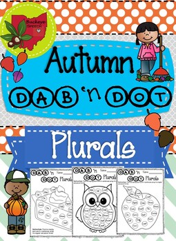 Autumn Language Dab 'n Dot - Plurals