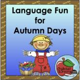 Autumn Language Passage