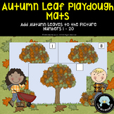 Autumn Leaf Playdough Mats for Counting 1 - 20