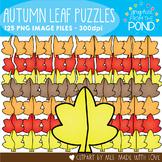 Autumn Leaf Puzzles Clipart