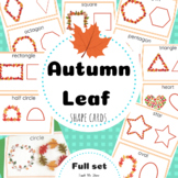 Autumn Leaf Shape Cards