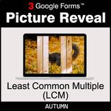 Autumn: Least Common Multiple (LCM) - Google Forms Math |