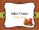 Autumn Leaves - A Fall Folk Song w/ Orff Accompaniment & Movement Activity