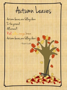 Autumn Leaves: A poem for young children