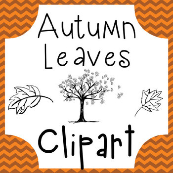 Autumn Leaves Clipart - Fall Lessons