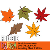 Autumn Leaves Clipart Free