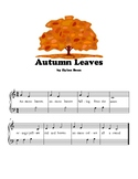 Autumn Leaves - Elementary Piano Solo