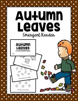 Autumn Leaves Emergent Reader