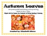 Autumn Leaves  Explanatory Paragraph Writing