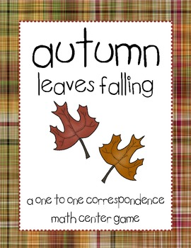Autumn Leaves Falling One to One Correspondence Game