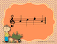 Autumn Leaves Interactive Melody Reading Practice Game {so