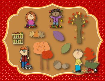 Autumn Leaves - Interactive Reading Practice Game {ti tika}