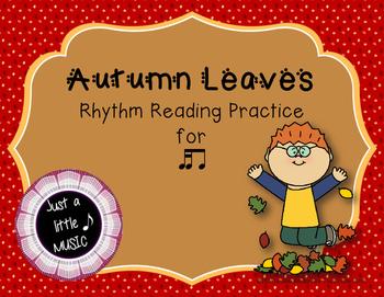 Autumn Leaves - Interactive Reading Practice Game {tika ti}