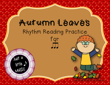 Autumn Leaves - Interactive Reading Practice Game {triple ti}
