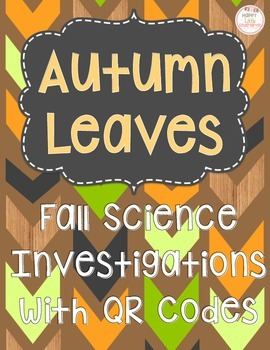 Autumn Leaves Investigations for Fast Finishers/Gifted & T