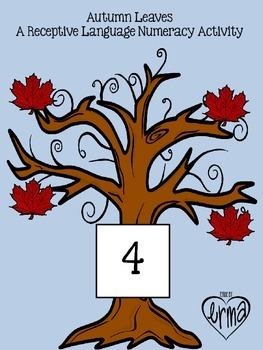 Autumn Leaves: Receptive Numeracy Activity