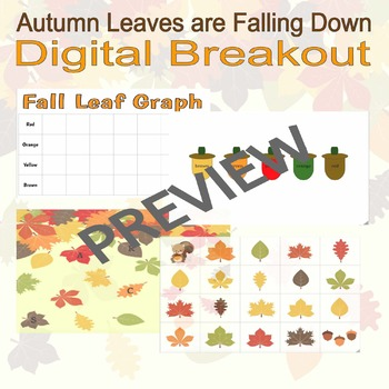 Digital Breakout Escape Room (Google Slides) - Fall (3-5)