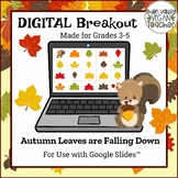 Digital Breakout Escape Room (Google Slides) - Fall (3-5)
