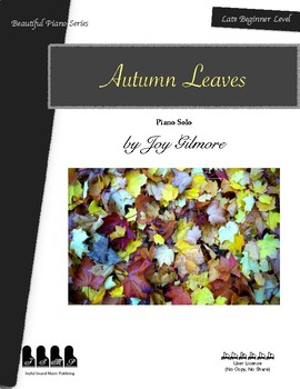 Autumn Leaves_Piano Solo_Late Beginner