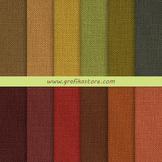 Autumn Linen Digital Papers