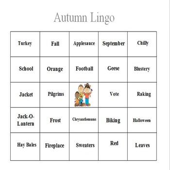 Autumn Lingo - An Expressive Language Game