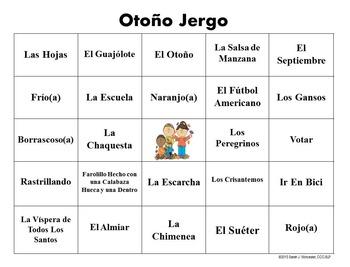 Autumn Lingo - Spanish Edition