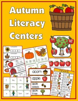 Autumn Literacy Centers