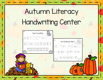 Autumn Literacy Handwriting