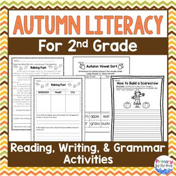 Autumn Literacy Packet {2nd Grade NO PREP!}