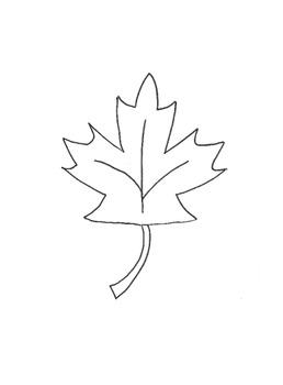 Autumn Maple Leaf Art Project
