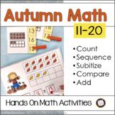 Autumn Number Sense Activities 11 to 20 {RtI)