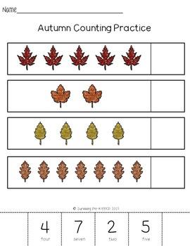 Autumn Math Center Pack