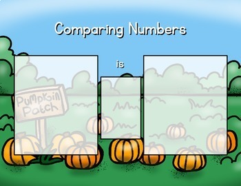 Autumn Math Center: Pumpkin Patch Compare