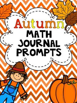 Autumn Math Journal Prompts