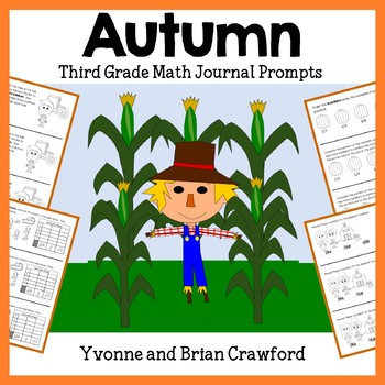 Autumn Math Journal Prompts 3rd Grade Fall By Yvonne Crawford