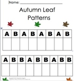 Autumn Math-Leaf Patterns