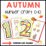 Autumn Math Number Craft Activities